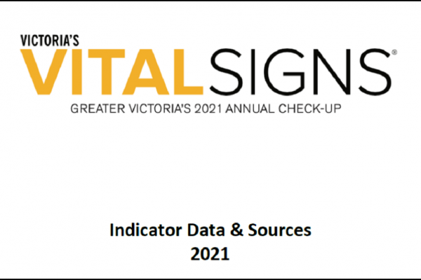 Vital Signs Indicator Data & Sources